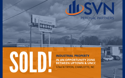Industrial Property in Charlotte OPPORTUNITY ZONE Just Sold!