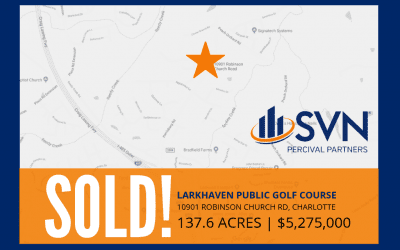 FORMER LARKHAVEN PUBLIC GOLF COURSE SOLD!
